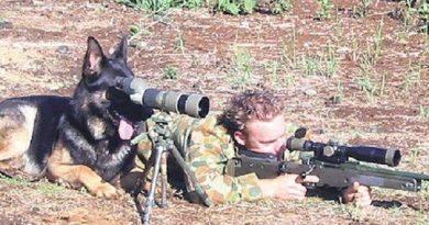Sniper Dog - Dog humor