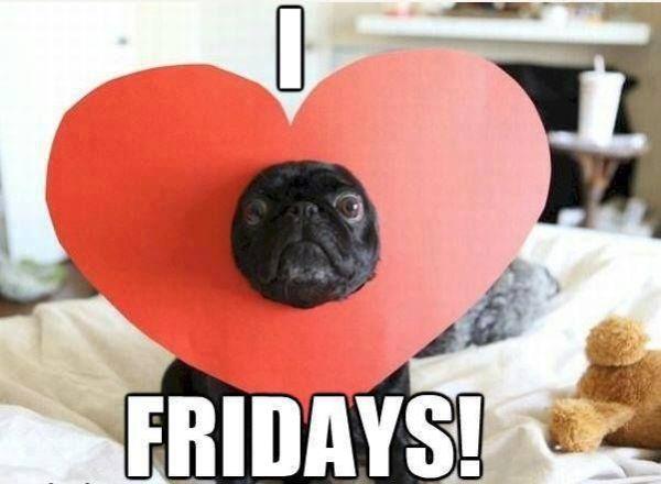 I Love Fridays - Dog humor
