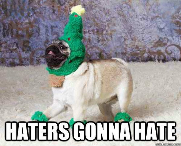 Haters Gonna Hate - Dog humor