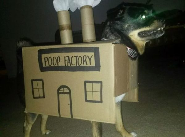 Poop Factory - Dog humor
